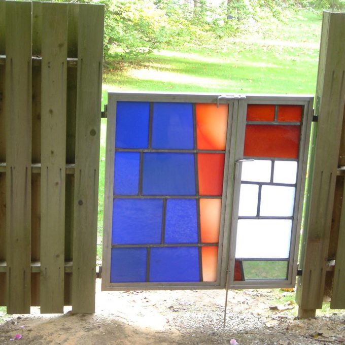 American Airlines Robert Sowers stained glass doors