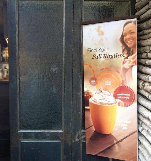 Starbucks reclaimed doors with chicken wire glass